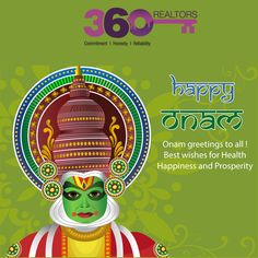 greetings to all! Best wishes for health, happiness and prosperity Onam Greetings, Real Estate Services, Wish, Happiness, Health, Happy, Bonheur, Health Care, Ser Feliz