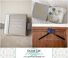 The Westin at Marina Village | Cape Coral Wedding Photographer | Jamie Lee Photography | Bride Getting Ready | Custom Engraved Wedding Gift | Dreams Do Come True, I am Marrying You! | Custom Name Hanger