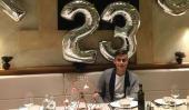 Así festejó Paulo Dybala su cumpleaños número 23 La estrella de...  Así festejó Paulo Dybala su cumpleaños número 23  La estrella de la Juventus de Italia el futbolista cordobés Paulo Dybala festejó este martes sus 23 años de vida y lo hizo entre sus afectos y también entrenando ya que se sigue recuperando de una lesión muscular (se estima que en dos o tres semanas volverá a la cancha).  Mientras tanto la Joya recibió numerosas muestras de afecto en las redes sociales y festejó junto a su…