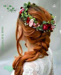 Pakistan Independence Day, Girls With Flowers, Girls Dpz, Aba, Wedding, Pakistani, Fashion, Valentines Day Weddings, Moda
