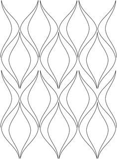 swirl fill 3 Longarm Quilting, Free Motion Quilting, Machine Quilting, Islamic Art Pattern, Pattern Art, Bubble Quilt, Automotive Upholstery, Cnc Cutting Design, Wall Tiles Design