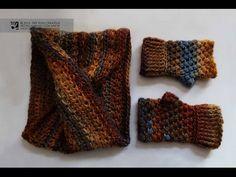 Tutorial de un cuello grueso fácil y rápido [tejer a ganchillo / crochet] - YouTube