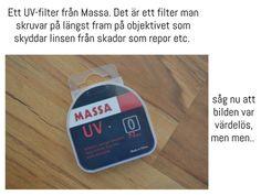 Ett UV filter fran massa