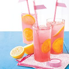 How to make Sweet Pink Lemonade