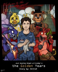 Five Nights At Freddy's // Bonnie// Chica// Freddy// Foxy // Mike