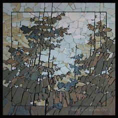 Станковая мозаика — Сергей КАРЛОВ Stone Mosaic by Sergey Karlov
