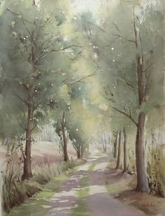 Christine CREHALET #watercolor jd…