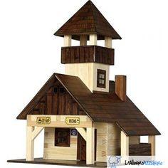 Walachia - Costruzioni in legno - N. 40 RIFUGIO ESCURSIONISTICO - Hobby Kits | lalberoazzurro.net