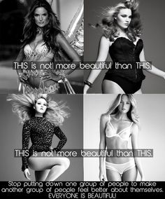 In Defense of Skinny Girls and curvy girls. Be what you want to be!