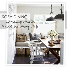 Sofa Dining Ideas