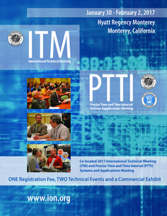 ION ITM/PTTI 2017 Cover Art Cover Art, Graphic Design, Cover Design
