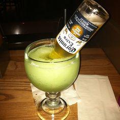 Photo by highvoltageink - #beer #margarita #green #ojsmenu #birthday #drinks #dinner #04052013
