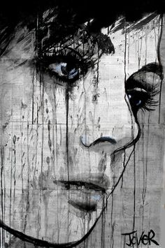 "Saatchi Art Artist Loui Jover; Drawing, ""do you know?"" #art"