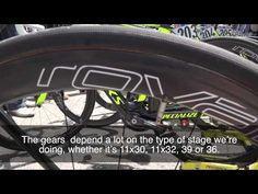 Alberto Contador's Giro d'Italia race bike - YouTube