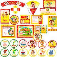 Resultado de imagem para festa sitio do pica pau amarelo