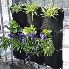 Vertical Hanging Garden - 9 Pocket