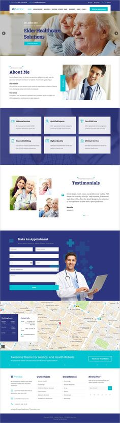 Mediac is a perfect responsive #WordPress theme for #medical and #health service #website with 4 unique homepage layouts download now➩ https://themeforest.net/item/mediac-healthy-service-wordpress-theme/18189009?ref=Datasata