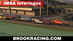 iRacing IMSA Interlagos Ferrari 488 GTE Season 3 2017