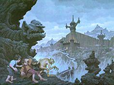 City of the Ringwraiths ~ Greg and Tim Hildebrandt.