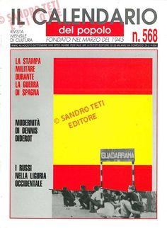 Il Calendario del Popolo n° 568, 1993