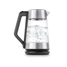 OXO On Cordless Glass Electric Kettle Stainless Steel