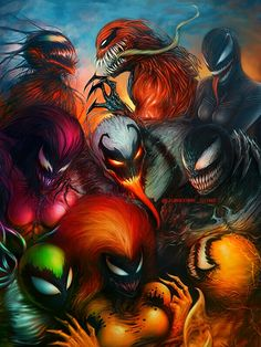 Want to discover art related to symbiote? Check out inspiring examples of symbiote artwork on DeviantArt, and get inspired by our community of talented artists. Venom Comics, Marvel Venom, Marvel Comics Art, Marvel Fan, Marvel Heroes, Anime Comics, Captain Marvel, Comic Villains, Comic Book Characters