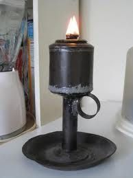Lard oil lamp from 1856 (I have never seen one of these)