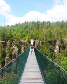 Oiumet Canyon Where: Dorion, Thunder Bay - 31 Secret Places In Ontario To Bring Your Girlfriend This Summer - Narcity Ontario Camping, Ontario Travel, Thunder Bay Canada, Canadian Travel, Canadian Rockies, Ontario Place, Beautiful Places To Travel, Secret Places, Vacation Spots