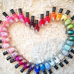 Just received an epic amount of polishes (Sally Hansen Miracle Gel, out August) at Lucky HQ. An afternoon polish party for the team might ju. Gel Polish Designs, Gel Nail Polish Colors, Gel Nail Art, Nail Colors, Gel Nails, Nail Polishes, Acrylic Nails, Sally Hansen Nails, Super Nails