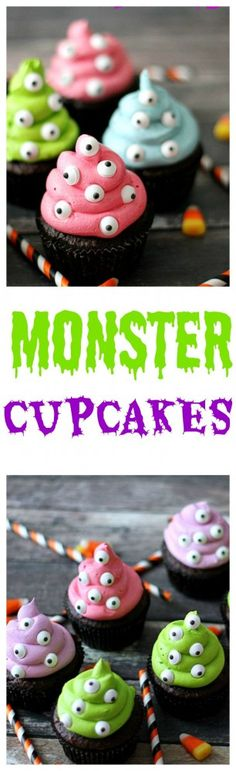 Monster Cupcakes, so