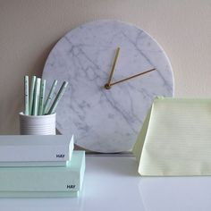 Marble Clock Norm Architects | Remodelista
