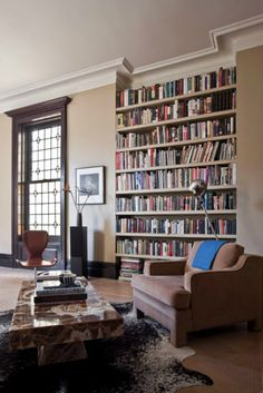 there's just not a whole lot better than a home library