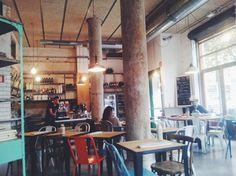 OMA bistro / cafe in #Barcelona! Great for brunch #food #bistro #brunch