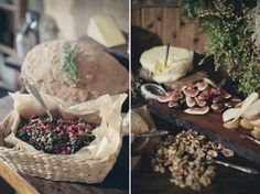 Beautifully rustic & simple event and food styling