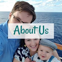 about us overlayed on father, mother and son posing for selfie on a cruise ship on the water Monthly Budget Worksheet, Budgeting Worksheets, Helping Others, Sons, Cruise, Finance, Father, Selfie, Learning