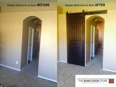 ARIZONA BARN DOORS: A Perfect solution for Bedroom to Bath