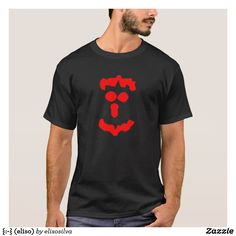 {:-} (eliso) camiseta