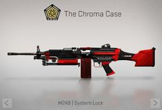 Counter-Strike Global Offensive: The Chroma Case: M249 System Lock