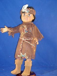 American Girl size American Indian Costume with by GSRdolls, $23.00