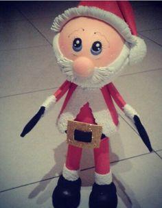 Papá Noel .. todo de goma eva... hermoso!