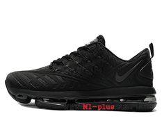 dc73cc658da9 Nike Air Max 2019 Nouveau Coussin Dair Chaussures de sport Hommes Noir  SH1712 100-Voir