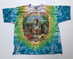 0d1c0d4e227c Grateful Dead Band Tee T shirt Vintage 1998 XXL Liquid Blue Jerry Garcia  90s 1990s Rock Keep it Green Farmer Enviroment Hippy Tie Dye 2XL