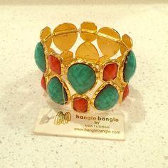 Amrita Singh bracelet Stretchy bracelet to fit all wrists! Gorgeous colors. Never worn! Amrita Singh Jewelry Bracelets