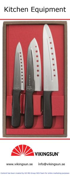 Get trendy kitchen knives of big brands at an attractive price at an online store in Sweden. For more information about this online store just click on the following link: http://www.vikingsun.se/om-oss/