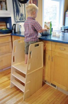 build a safety stool plans project