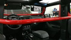 Amazing Rock Hard 4X4 Front Seat Harness Bar For Jeep Wrangler Jk Pdpeps Interior Chair Design Pdpepsorg