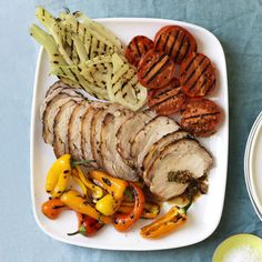 Porchetta-Style Grilled Pork Loin