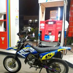 Gas station #supermoto