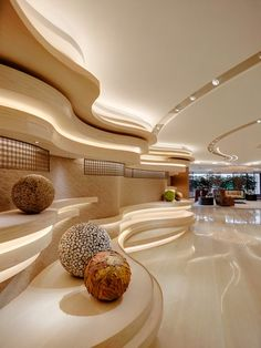 10 Energetic Clever Tips: Contemporary False Ceiling Wall Colors false ceiling modern design.False Ceiling Design New wooden false ceiling modern. Diy Interior, Modern Interior Design, Interior Architecture, Interior Decorating, Stylish Interior, Hotel Lobby Design, Modern Hotel Lobby, False Ceiling Design, Plafond Design