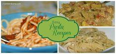 18 easy Pasta Recipes #easyrecipes